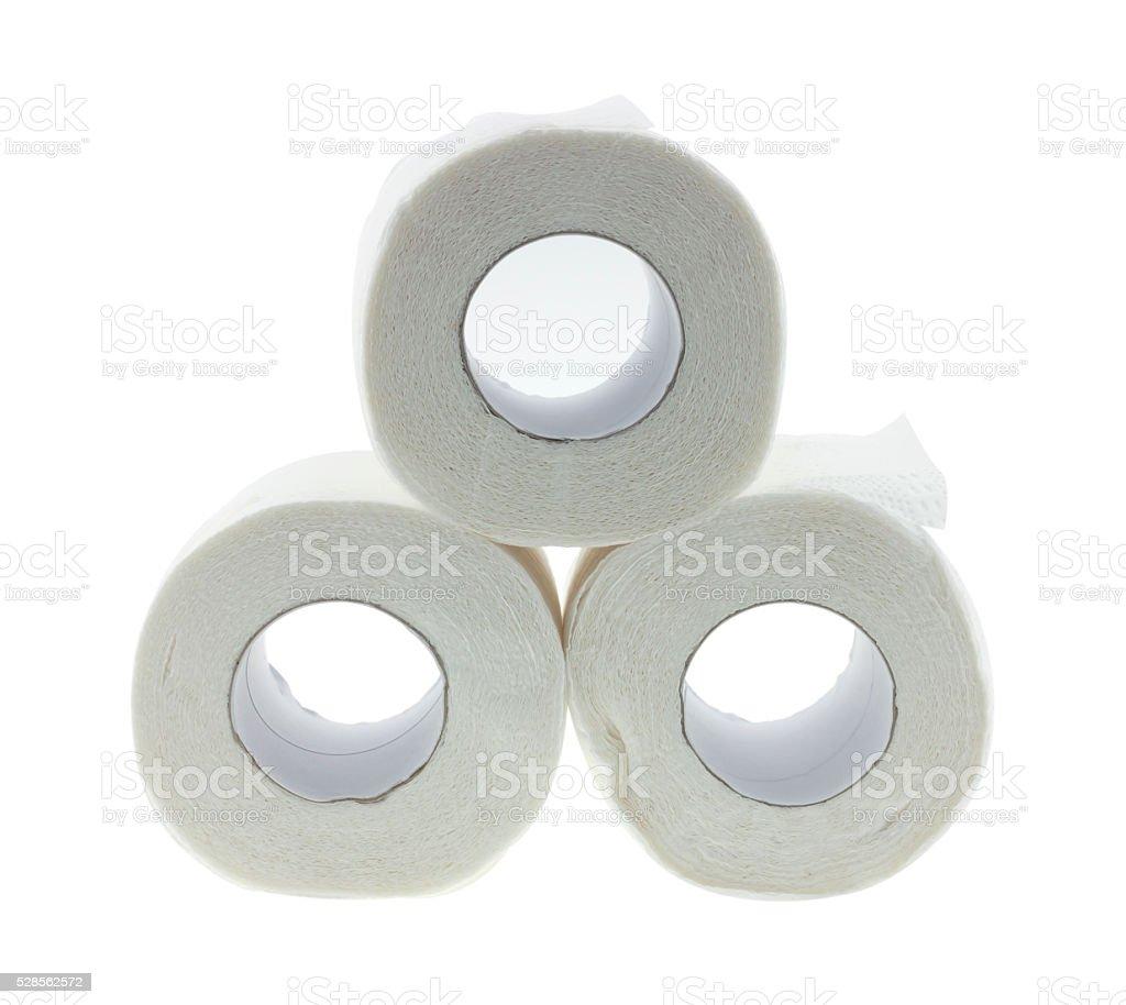 Tissues clean white stock photo