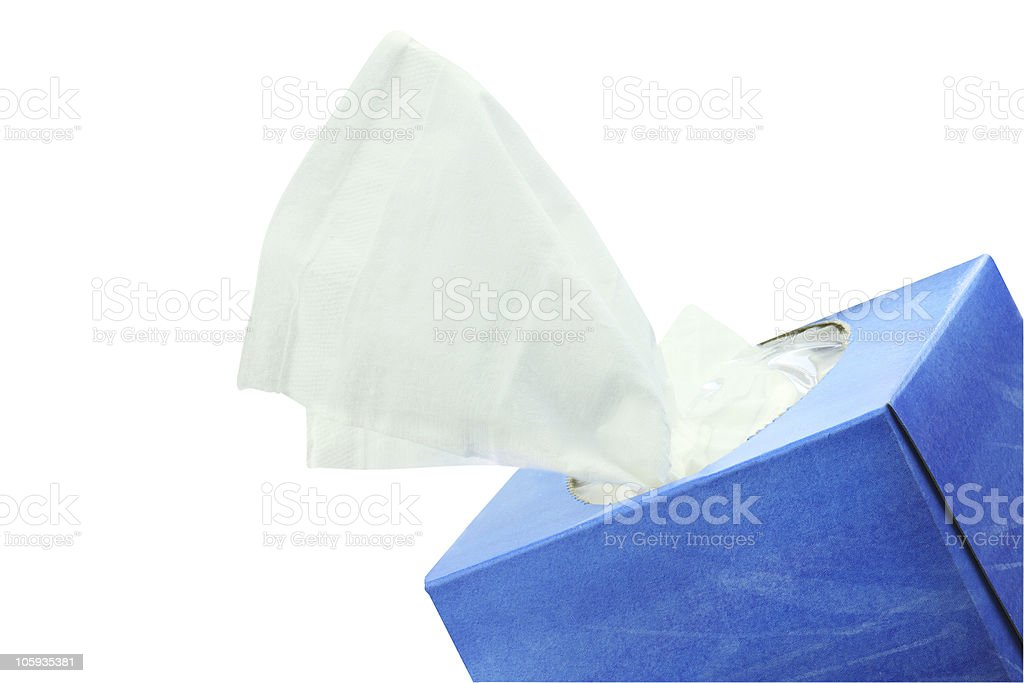 Tissues stock photo