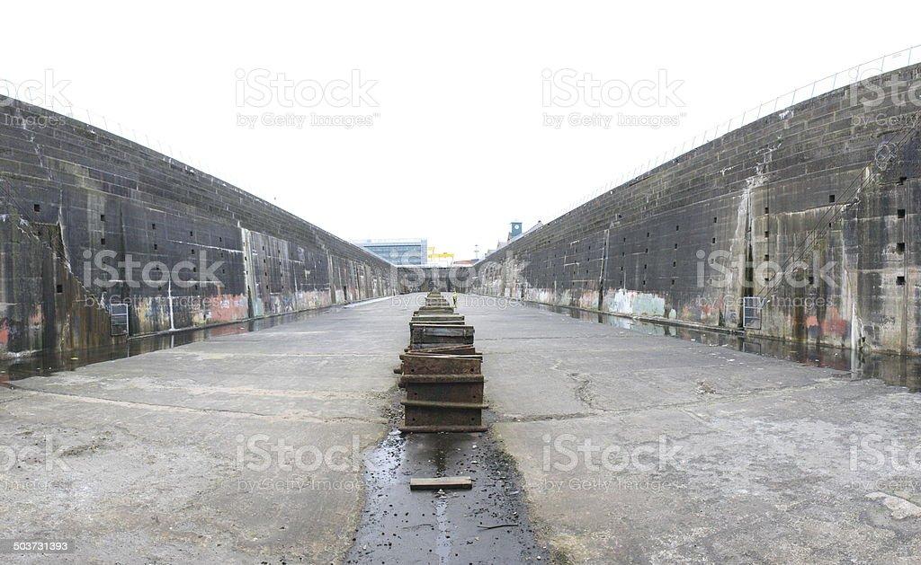 Titanic Dock stock photo