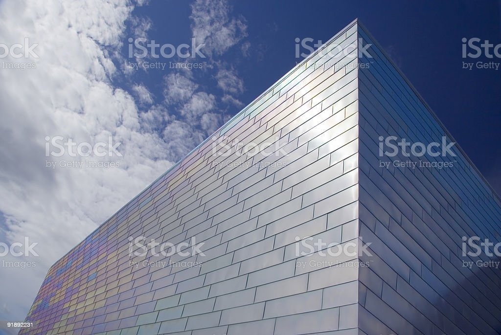 titanium fascia stock photo