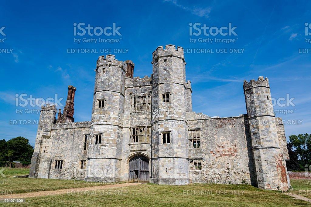 Titchfield Abbey, Hampshire, England, UK stock photo