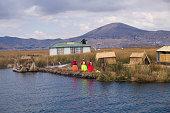 Titicaca Lake and Uros People, Peru
