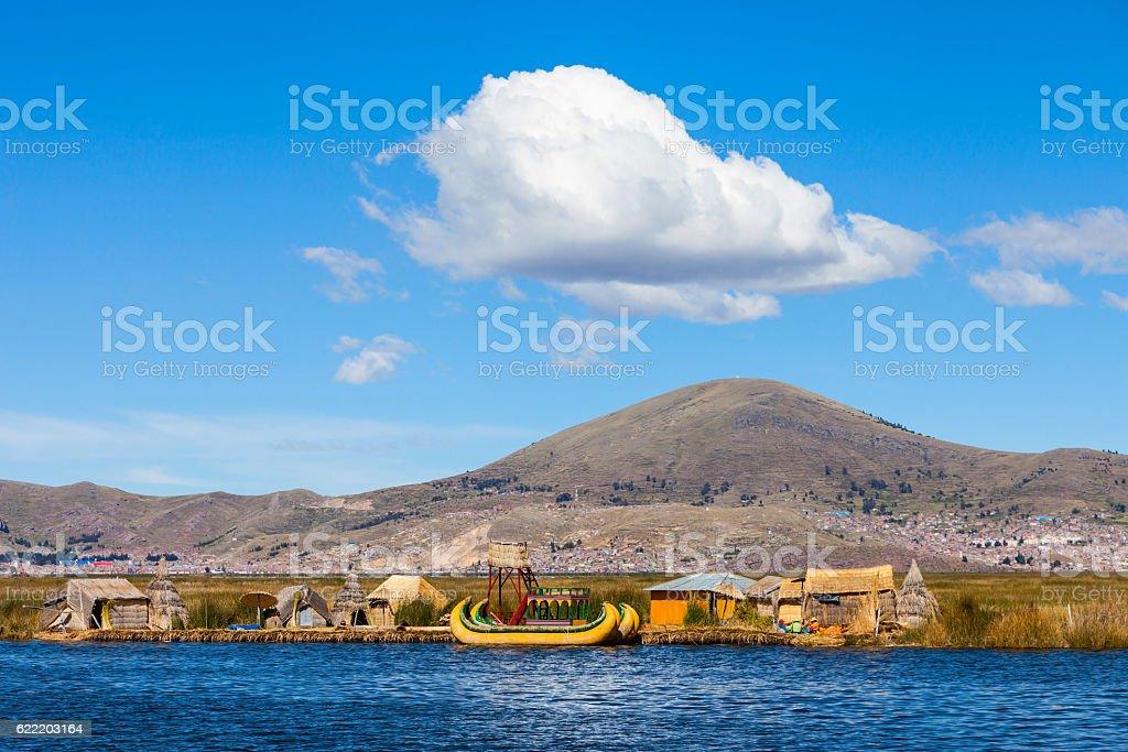 Titicaca Lake stock photo