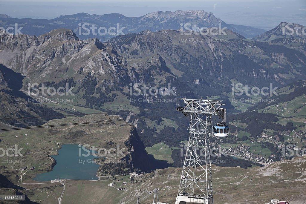 Titlis, Switzerland royalty-free stock photo