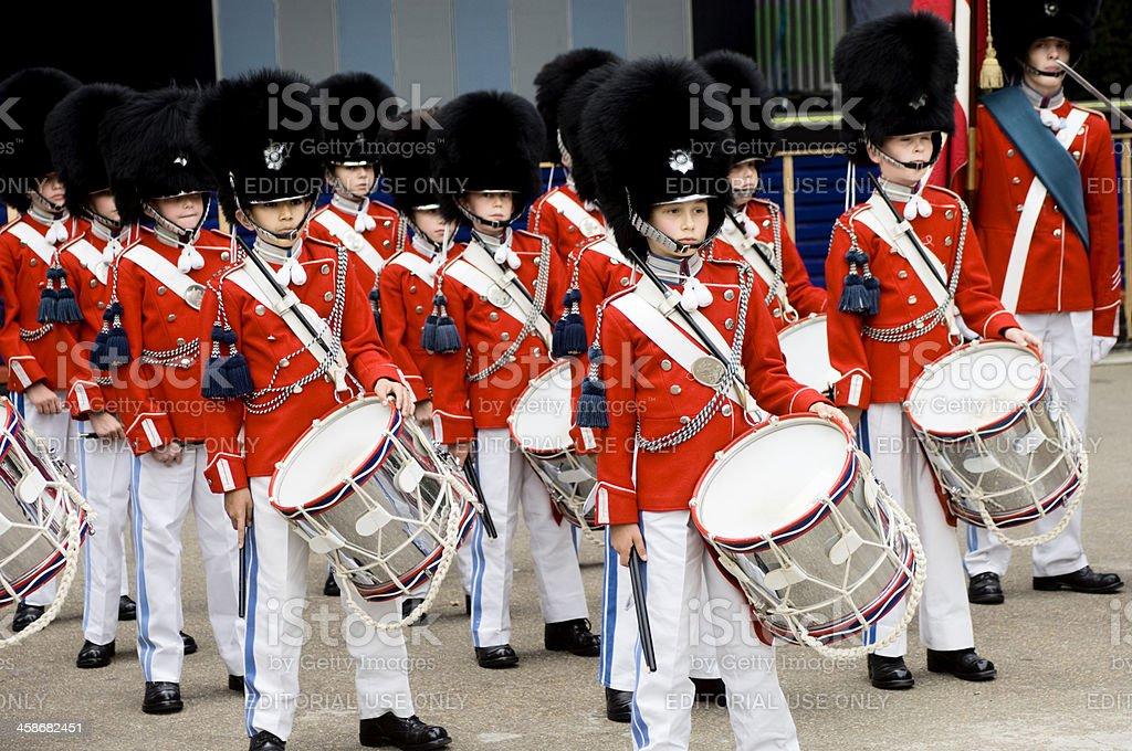 Tivoli Boys Marching Band stock photo