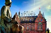 Tivoli Garden of Copenhagen