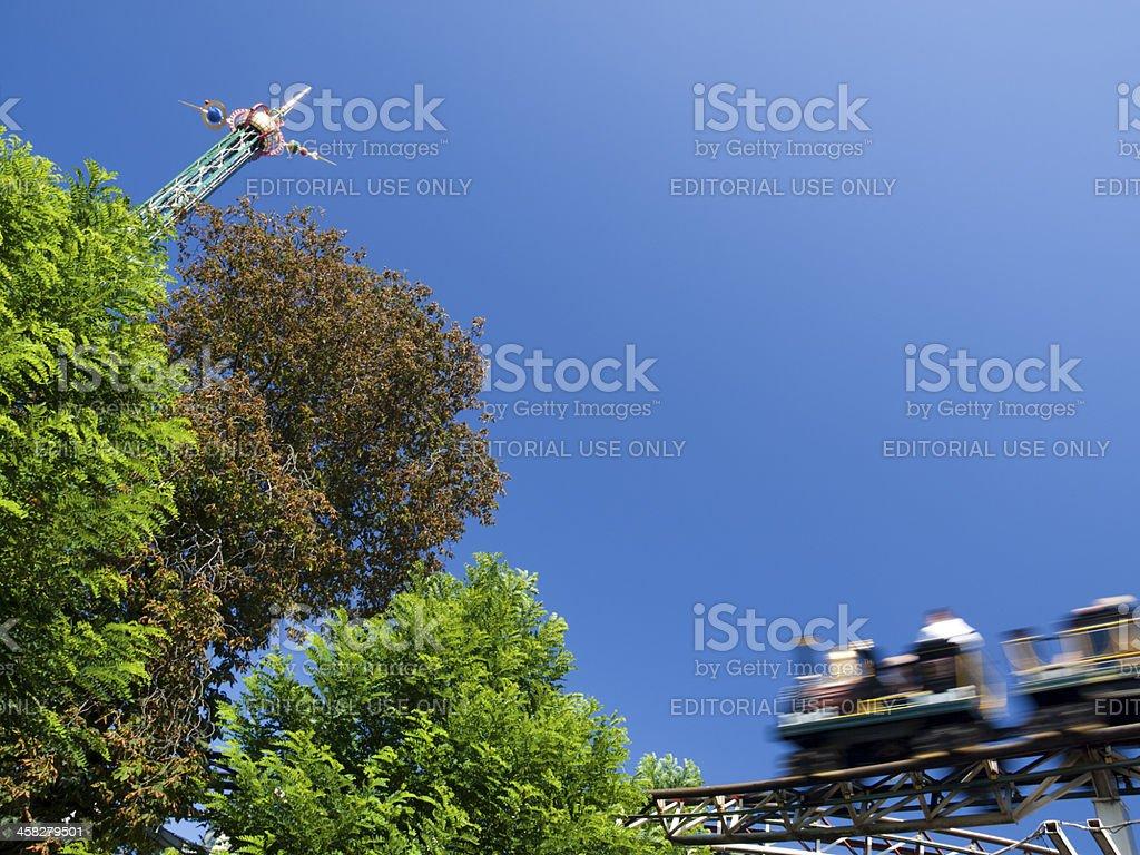 Tivoli Gardens, Copenhagen royalty-free stock photo