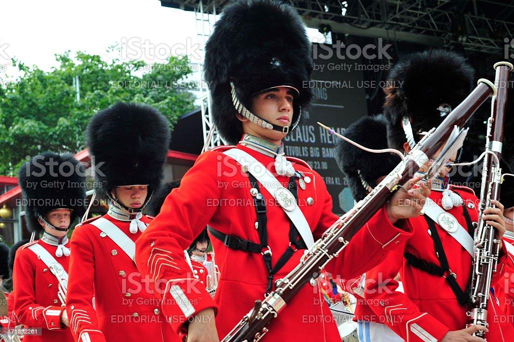 Tivoli Marching Band stock photo