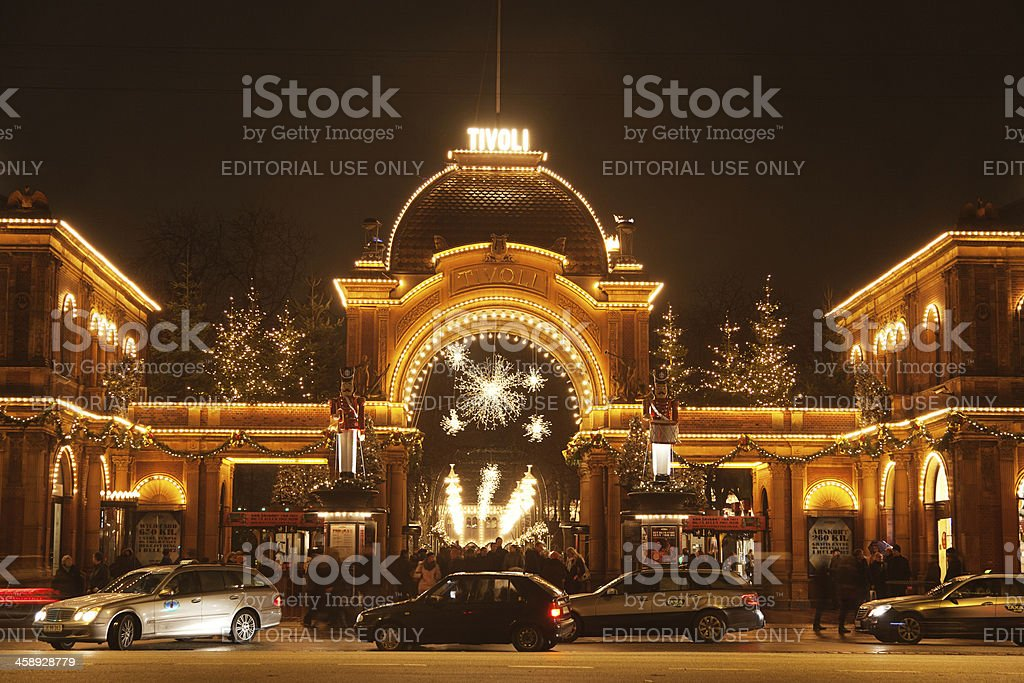 Tivoli stock photo