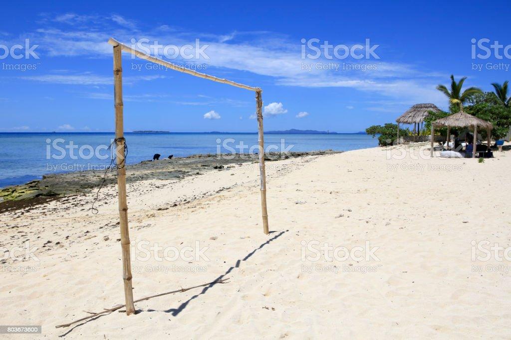 Tivua Island, Fiji stock photo