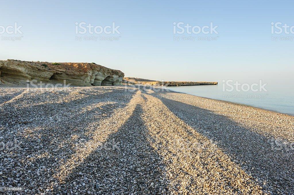 Tiwi beach at sunset royalty-free stock photo