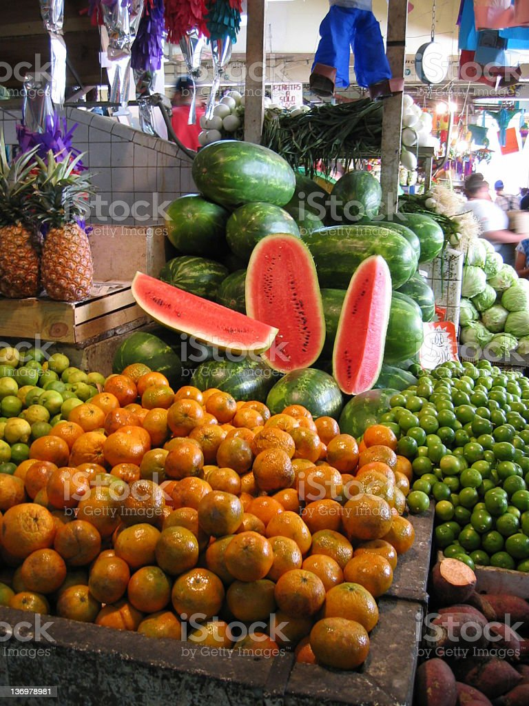Tlaquepaque Market, Mexico stock photo