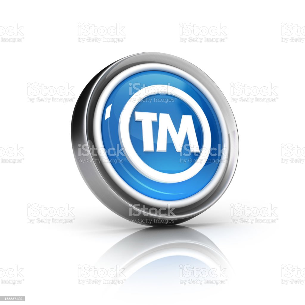 tm icon stock photo