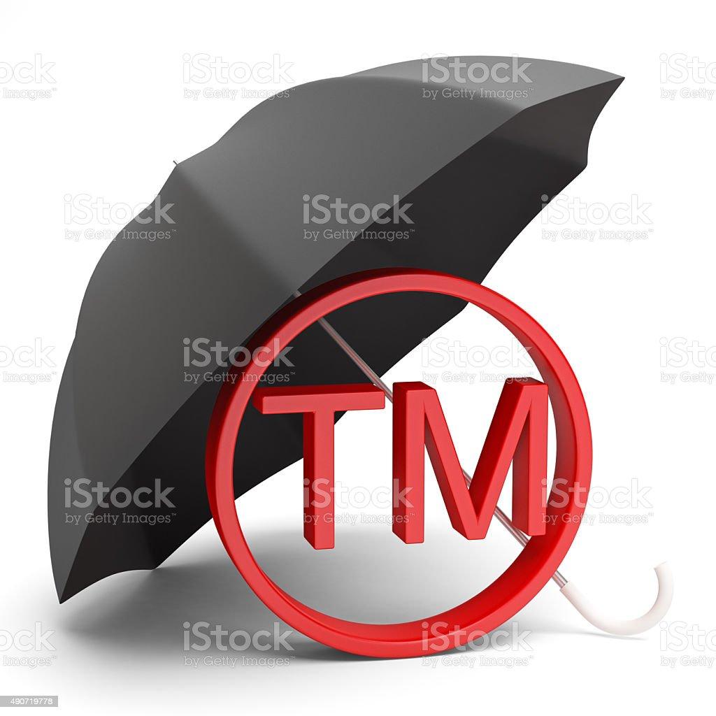 Tm Symbol stock photo