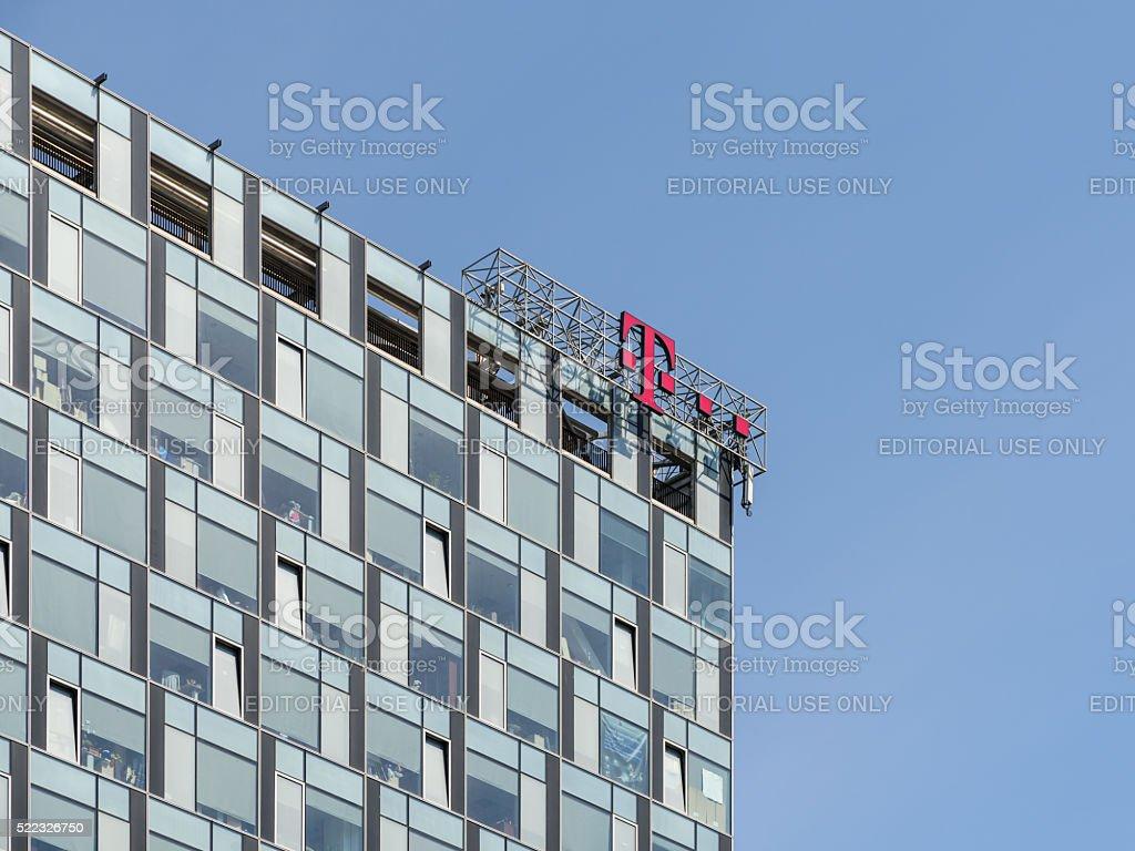 T-Mobile International Building stock photo