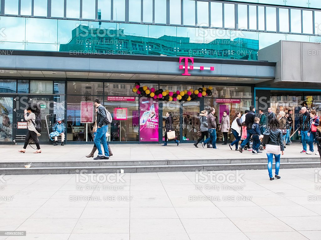 T-Mobile Store stock photo