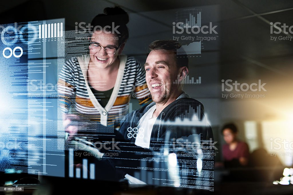 To an untrained eye the code can be confusing stock photo