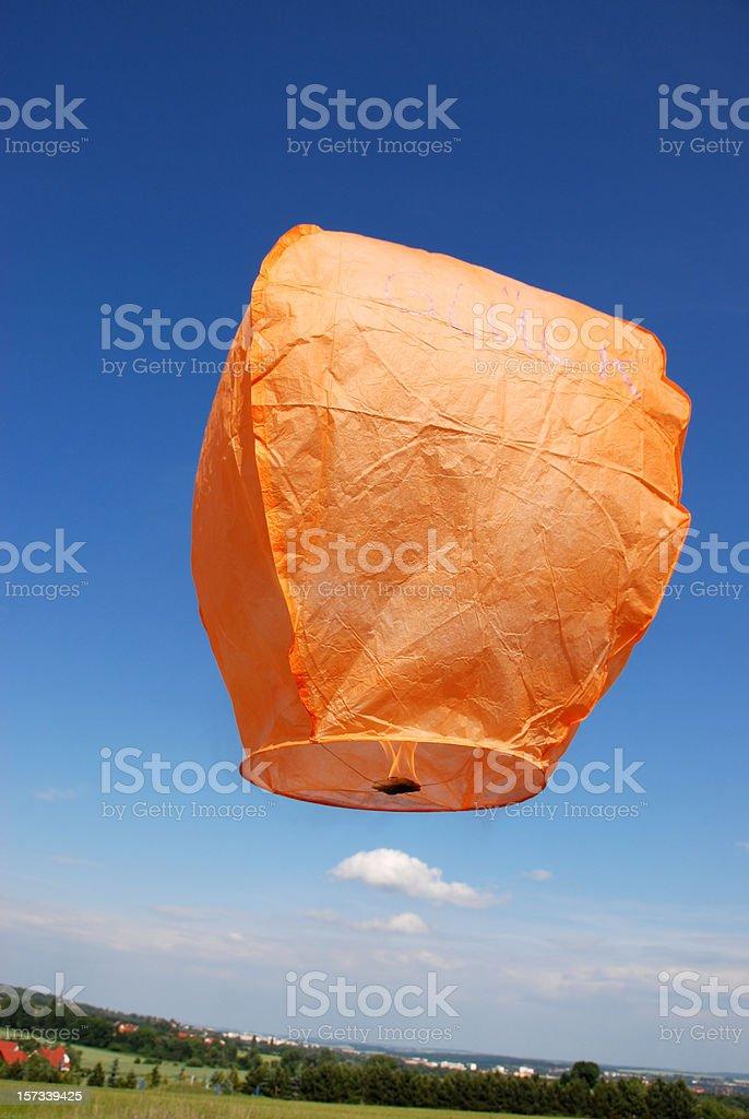 To balloon royalty-free stock photo