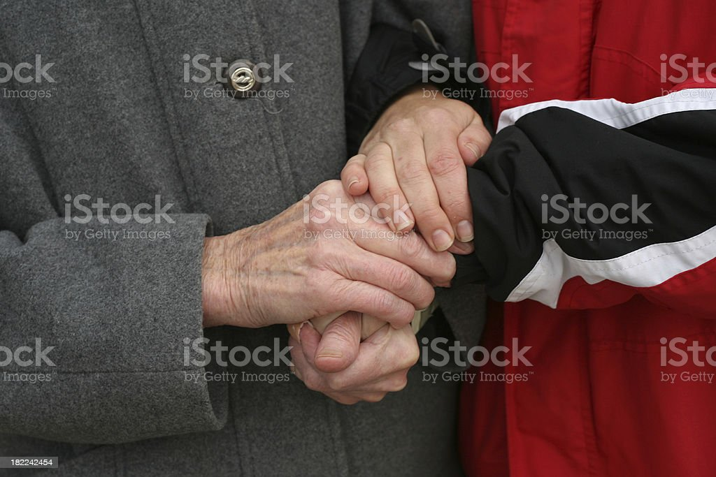 To be familiar royalty-free stock photo