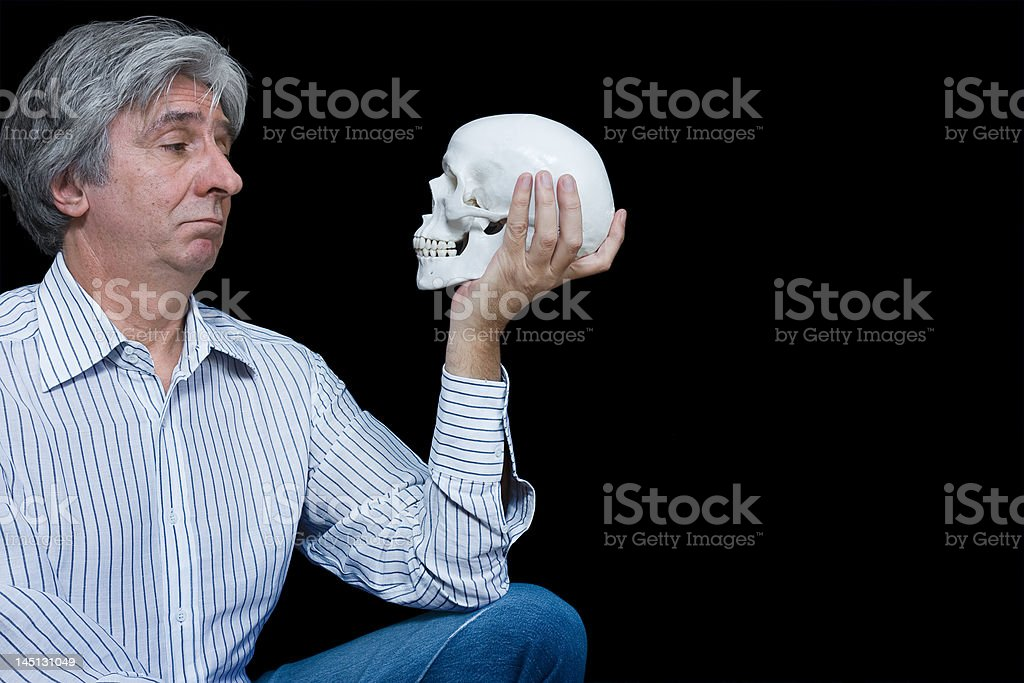 To be or not ... royalty-free stock photo