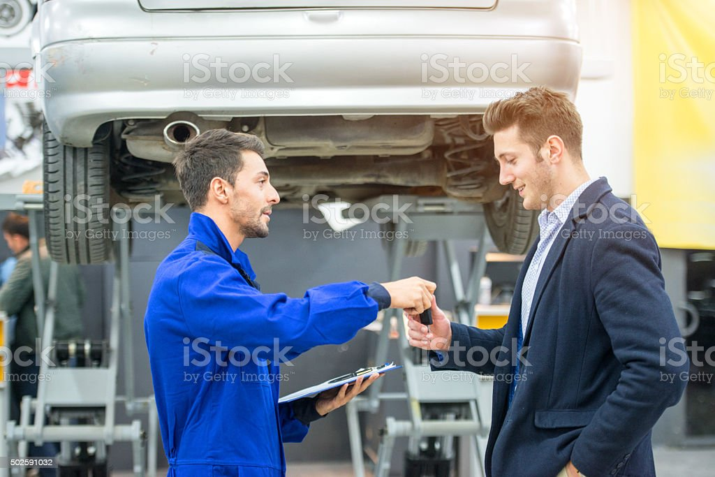to deliver car stock photo