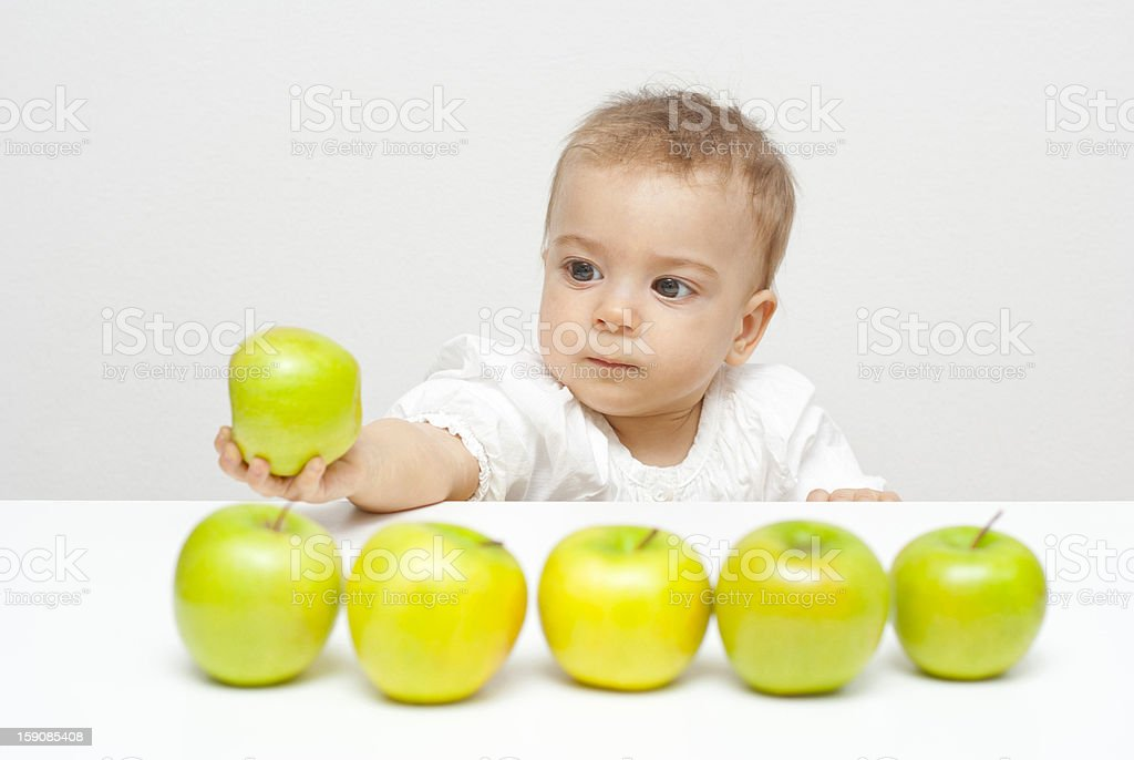 To eat, or not toeat ? royalty-free stock photo