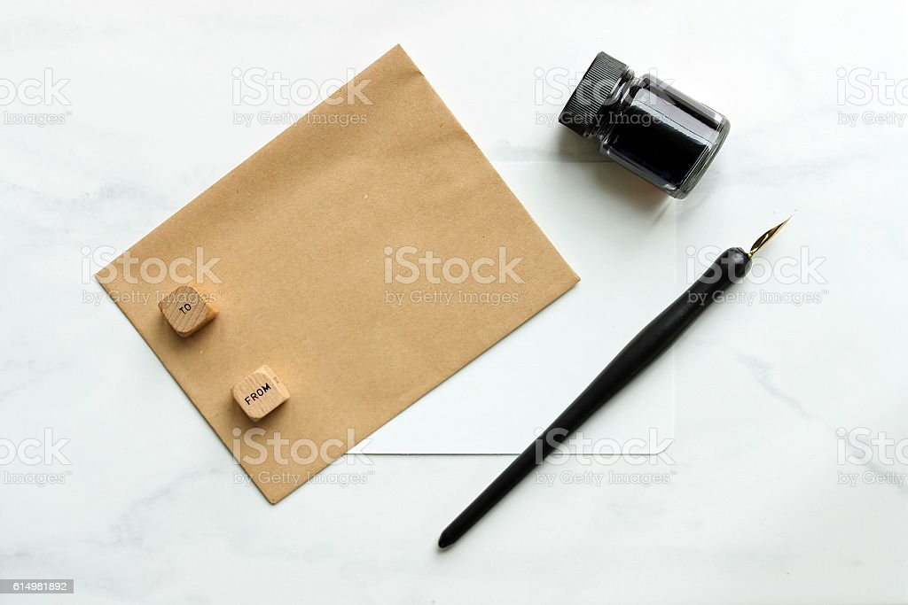 To: & From: stock photo