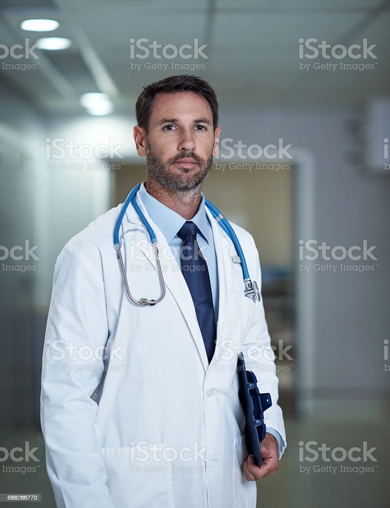 To get the right care, you need the right doctor stock photo