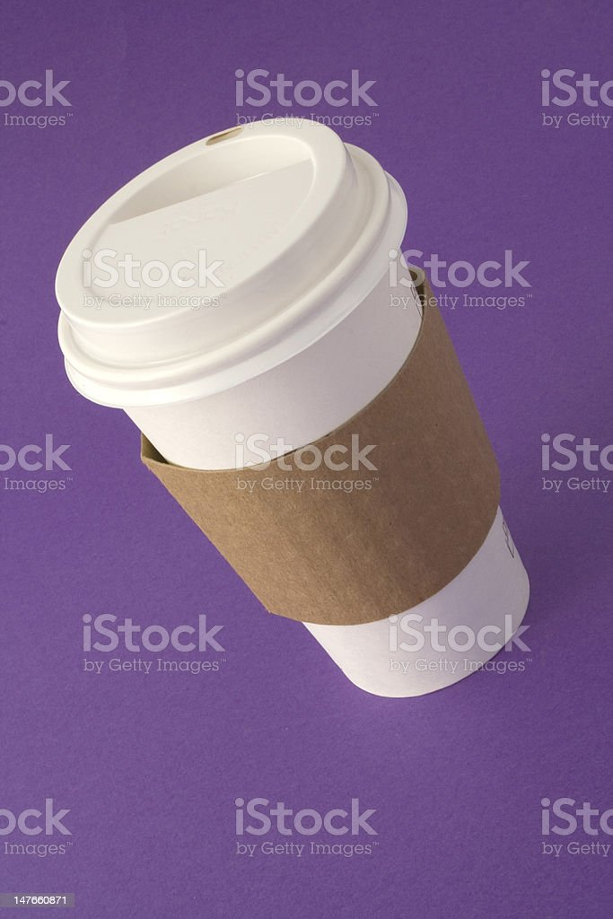 To Go Coffee Cup royalty-free stock photo