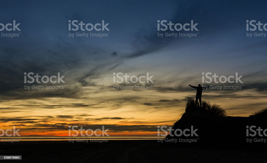 To God be The Glory stock photo