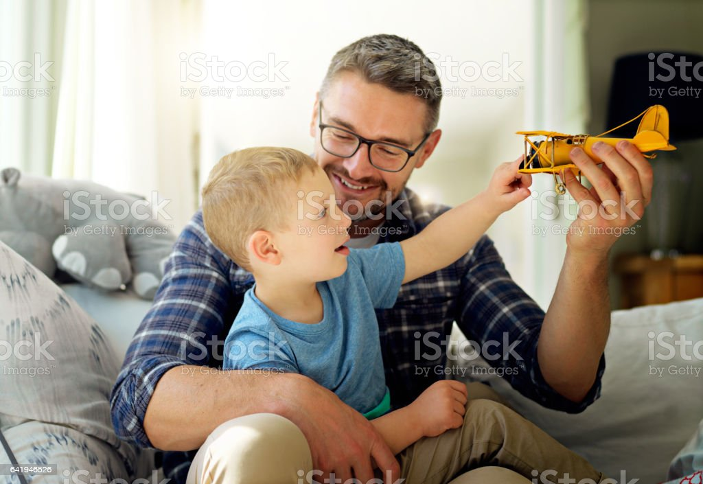 To grow together means to have fun together stock photo