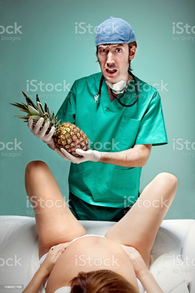 To have a pineapple stock photo