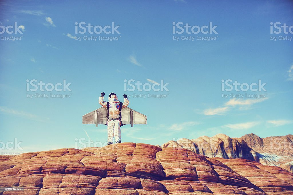 To Infinity and Beyond stock photo