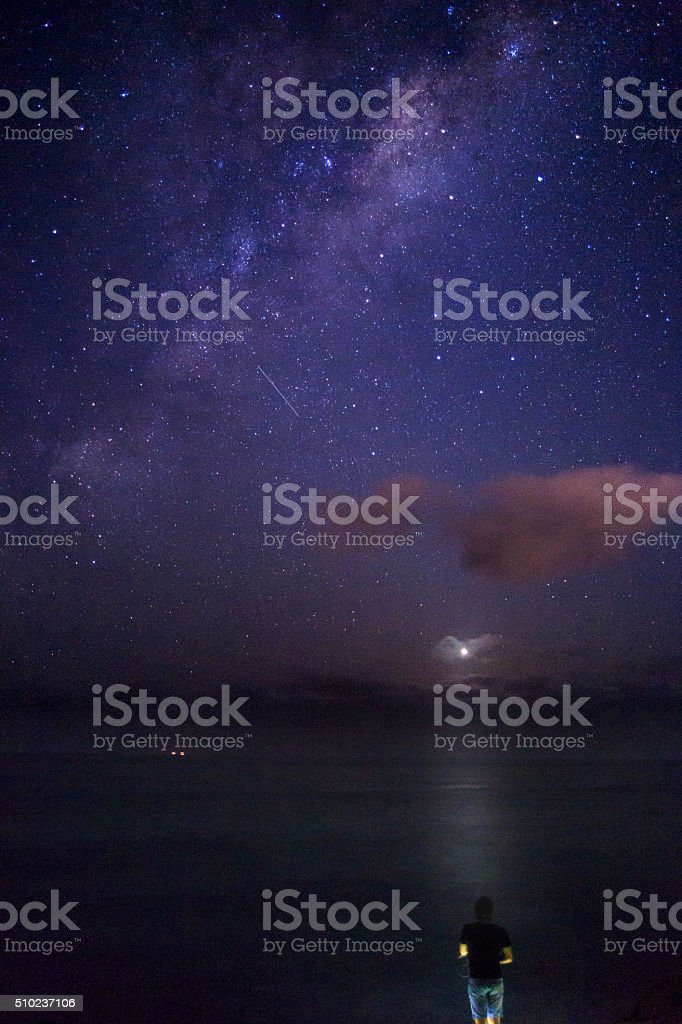 To Infinity stock photo