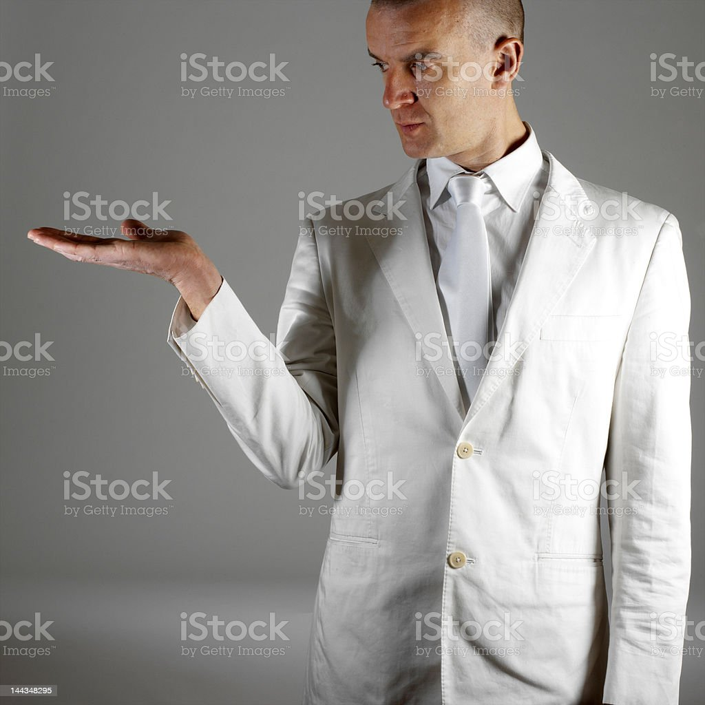 To introduce a product stock photo