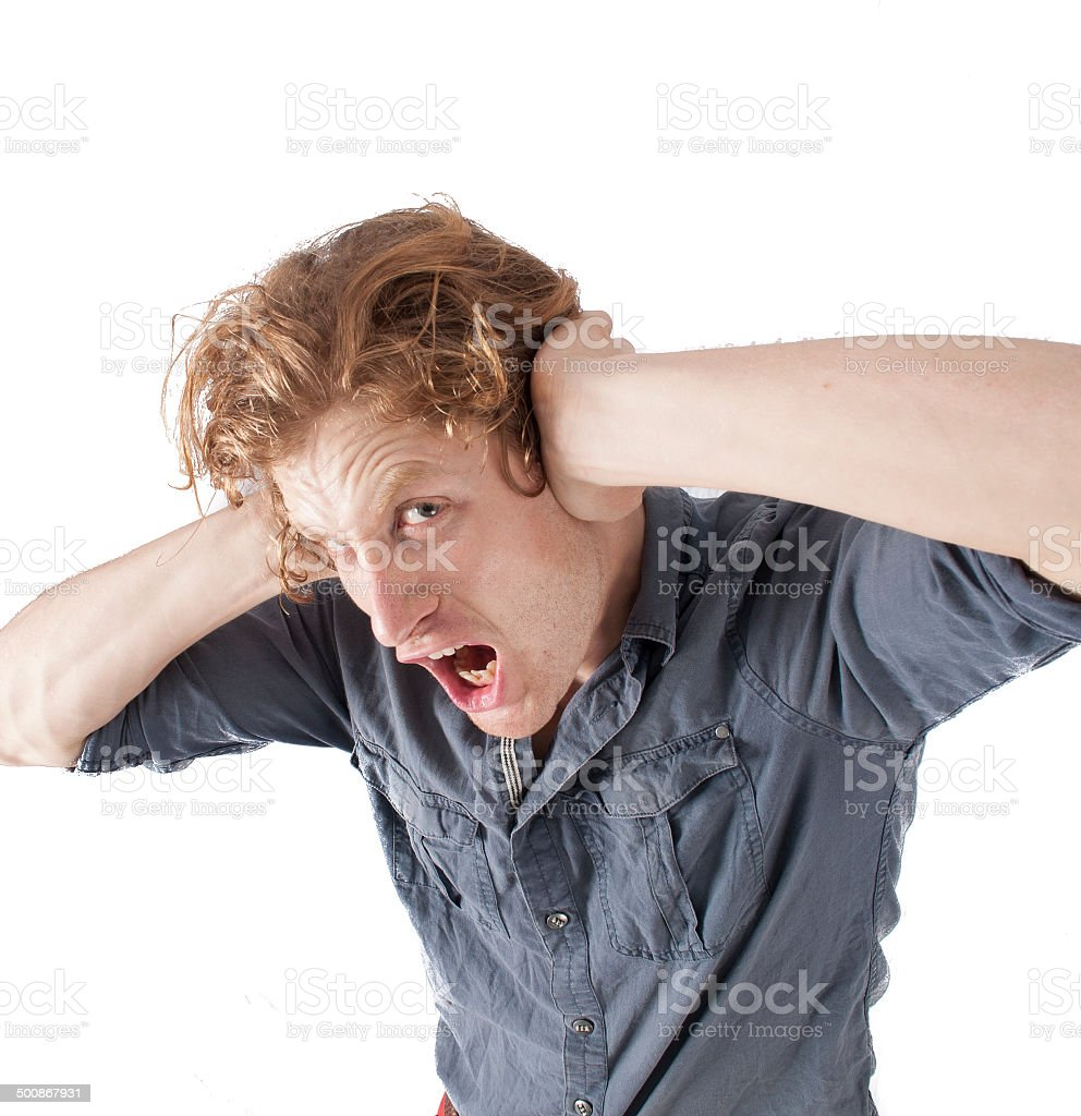 To loud stock photo
