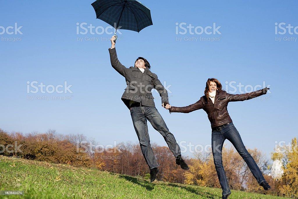 To Mary Poppins stock photo