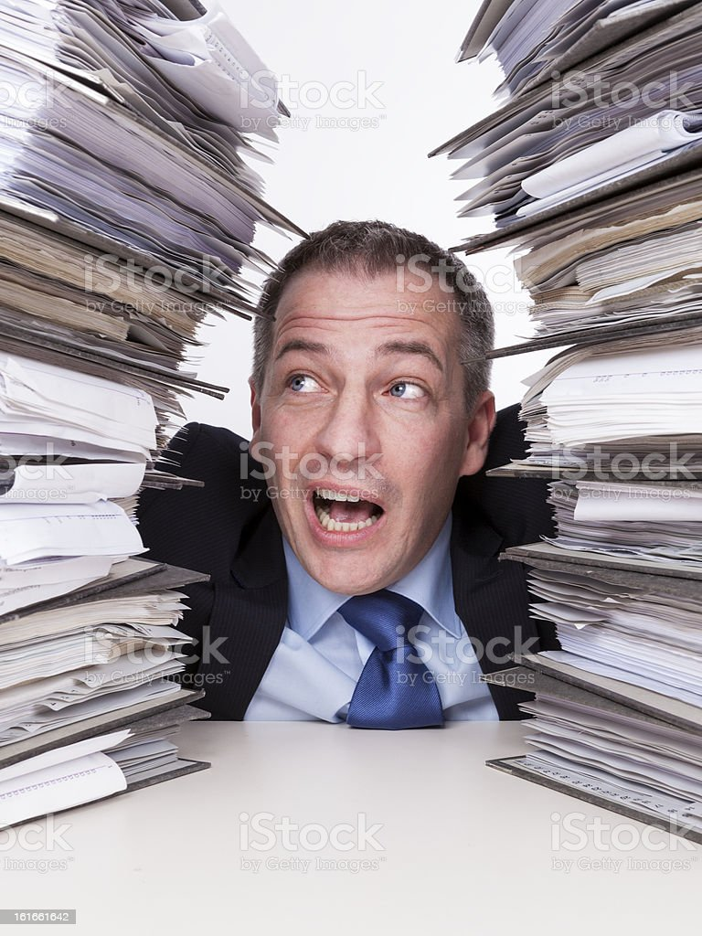 To much  work for one I royalty-free stock photo
