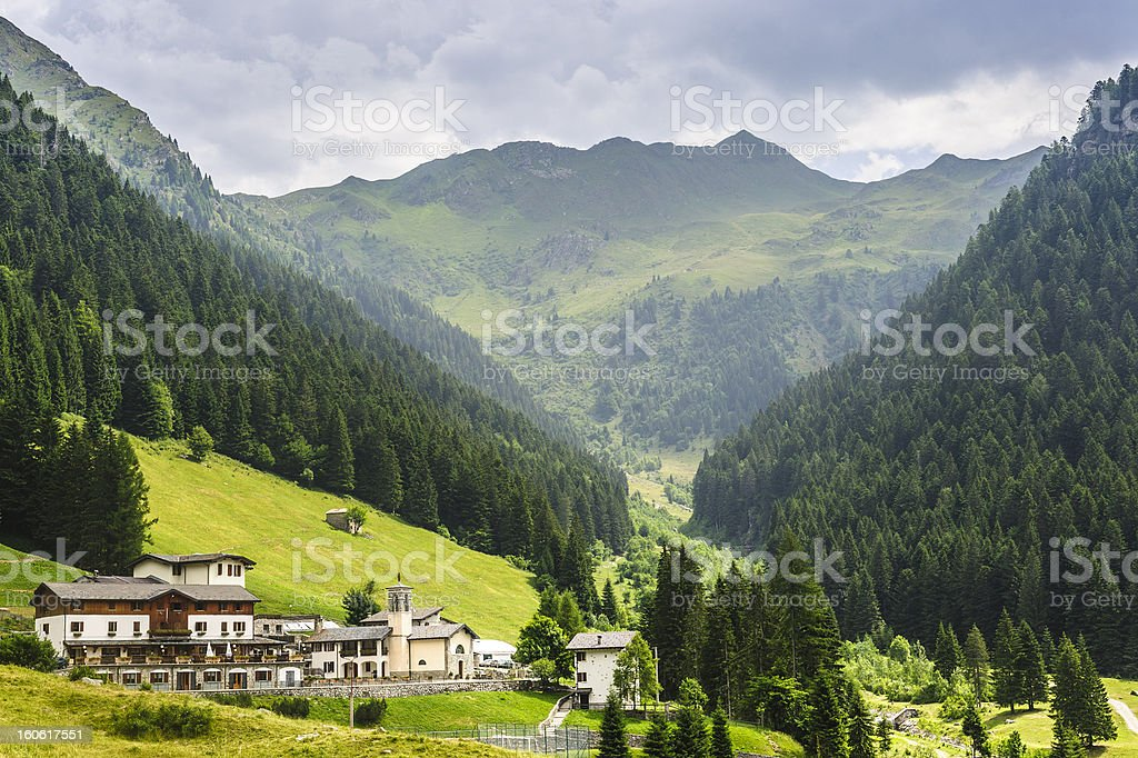 To Passo San Marco royalty-free stock photo