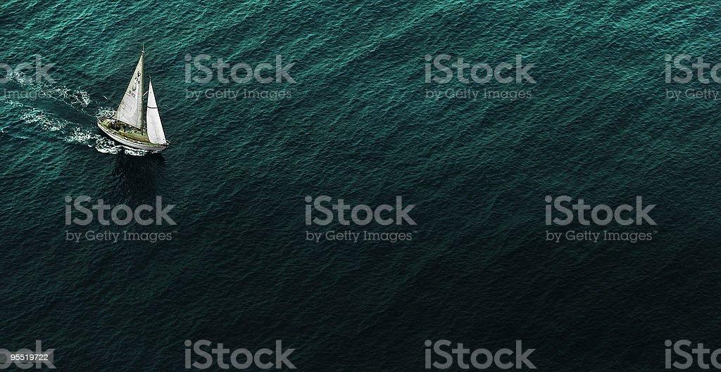 Para navegar en el mar - foto de stock