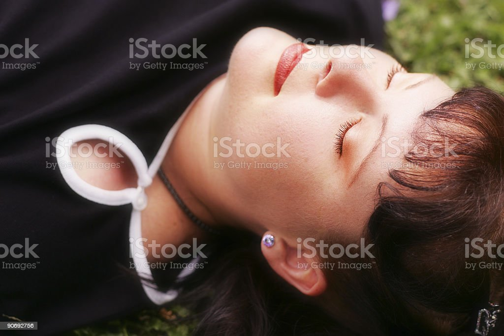 To Sleep Perchance to Dream stock photo
