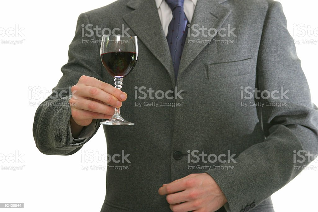To the deal royalty-free stock photo
