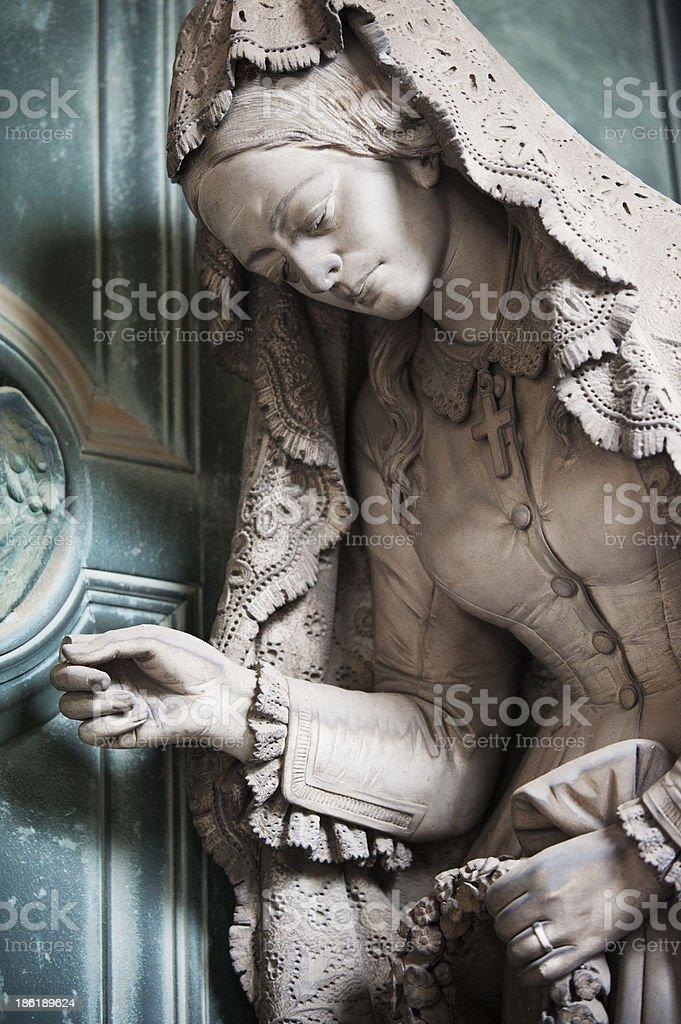 Al mausoleo di famiglia royalty-free stock photo