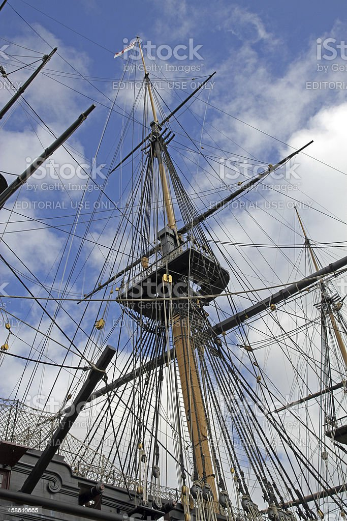 To the Rigging stock photo