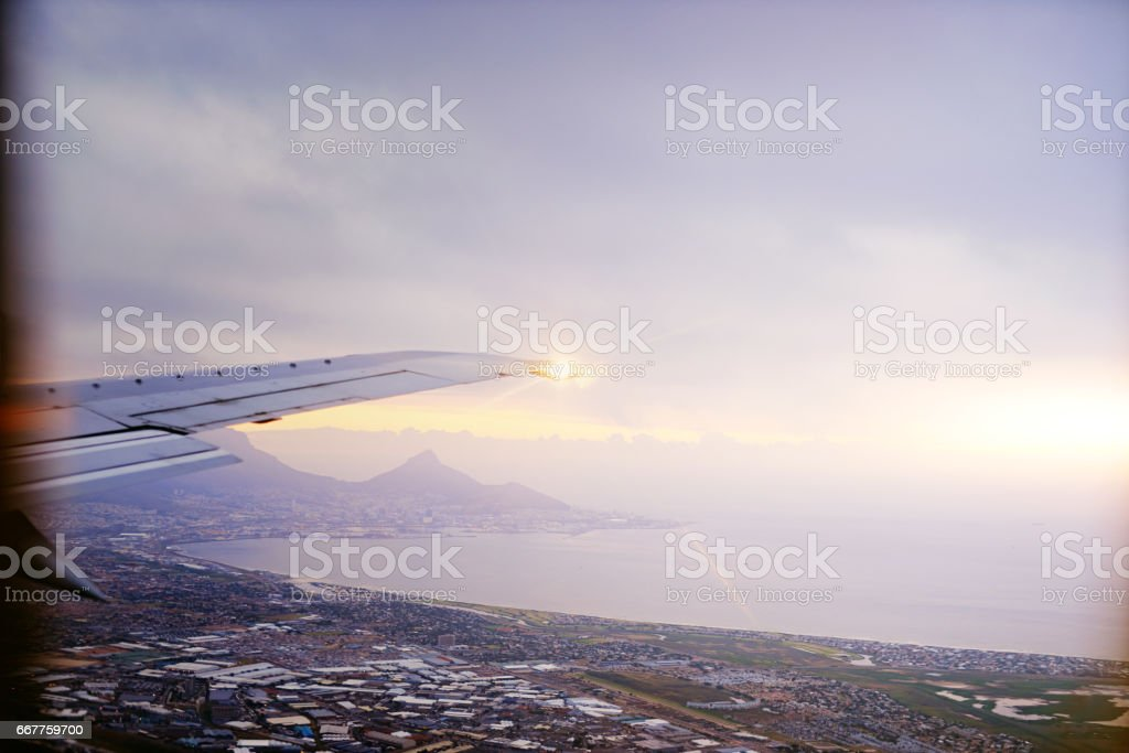 To travel is to live stock photo