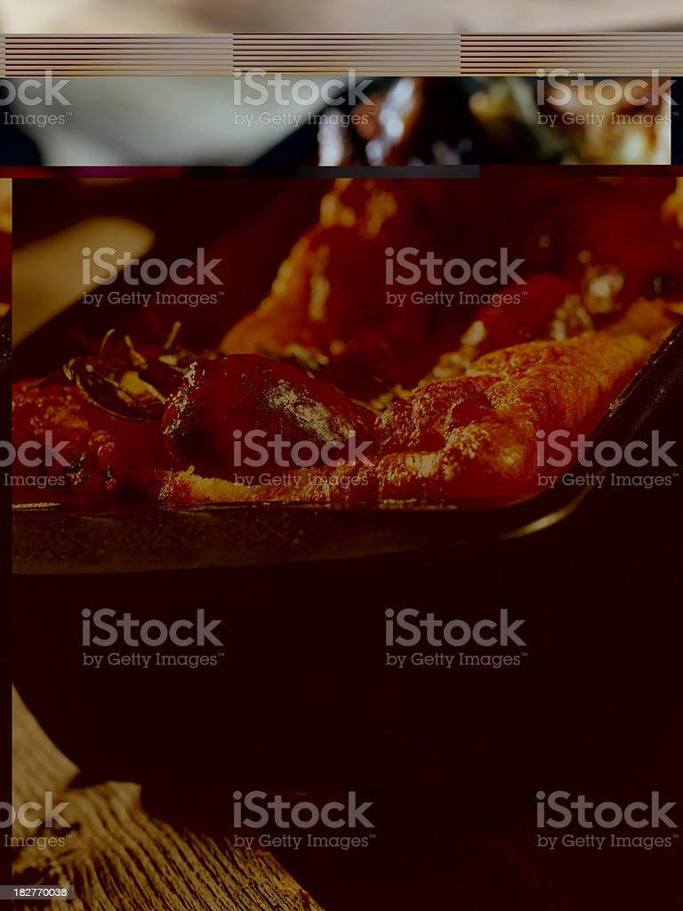 Toad in the Hole royalty-free stock photo