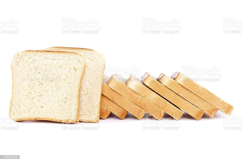 Toast bread royalty-free stock photo