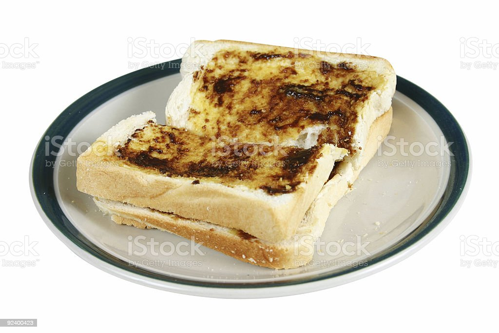 toast for breakfast royalty-free stock photo
