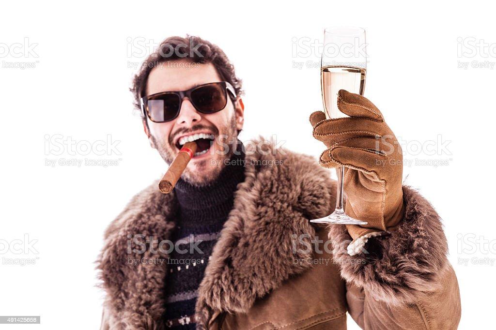 Toast! stock photo