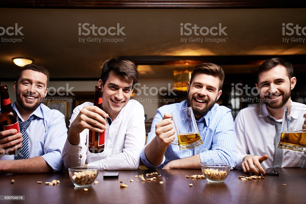 Toast to Friday stock photo